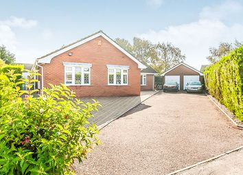 Thumbnail 3 bed detached bungalow for sale in Burrett Gardens, Wisbech