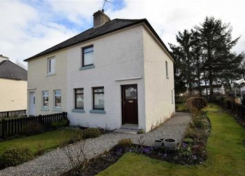 Thumbnail 2 bed semi-detached house for sale in Fountain Road, Tain, Ross-Shire