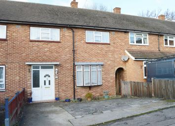 Thumbnail 3 bed terraced house for sale in Petersfield Close, Romford