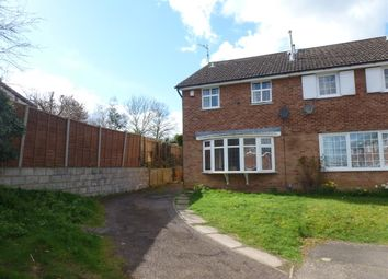 Thumbnail 3 bed semi-detached house for sale in Vicarage Farm Road, Wellingborough