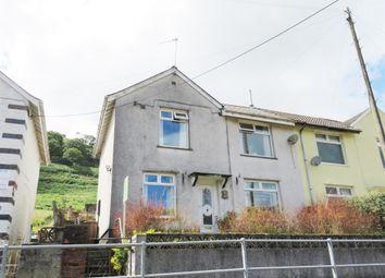 Thumbnail 3 bed semi-detached house for sale in Hillside Terrace, Deri, Bargoed