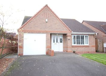 Thumbnail 2 bed detached bungalow for sale in Hazelwood Grove, Worksop