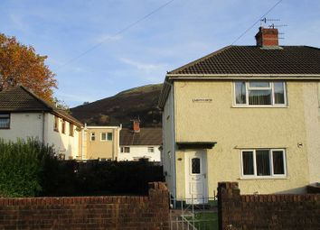 Thumbnail 2 bedroom semi-detached house for sale in Minyffordd, Ystalyfera, Swansea