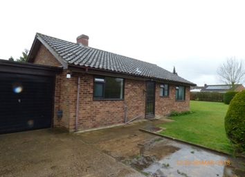 Thumbnail 3 bed detached bungalow to rent in The Street, Rumburgh, Halesworth