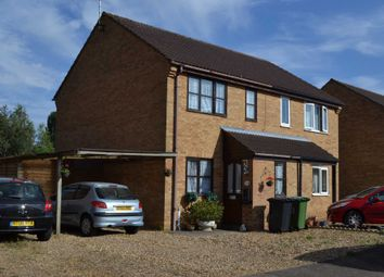 Thumbnail 2 bed semi-detached house for sale in Isle Bridge Road, Outwell, Wisbech