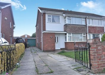 Thumbnail 3 bed semi-detached house for sale in Anderby Drive, Grimsby