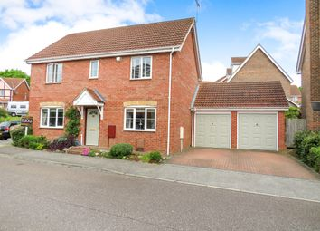 Thumbnail 4 bed detached house for sale in Treeview, Stowmarket