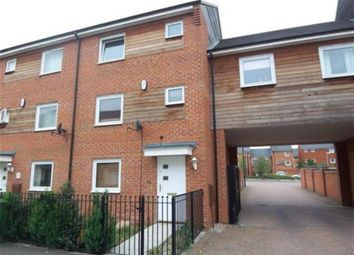 Thumbnail 4 bed terraced house for sale in Delves Way, Hampton Centre, Peterborough