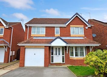 Thumbnail 4 bed detached house to rent in Western Gales Way, Normanton