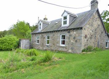 Thumbnail 4 bed cottage for sale in Knockshannoch, Glenisla, Perthshire