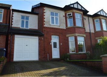 Thumbnail 4 bed semi-detached house for sale in Lambton Road, Manchester