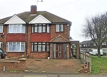 Thumbnail 3 bed semi-detached house for sale in Wood End Green Road, Hayes