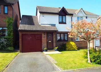 Thumbnail 2 bed semi-detached house for sale in Staddiscombe, Devon