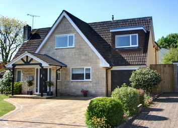 Thumbnail 4 bed detached house for sale in Highlands Close, Corsham, Wiltshire