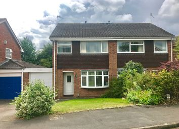Thumbnail 3 bed semi-detached house for sale in Cooke Close, Warwick