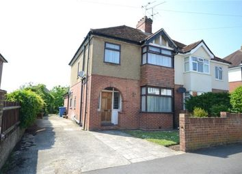 Thumbnail 3 bed semi-detached house for sale in Coronation Road, Aldershot, Hampshire