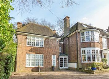 Thumbnail 4 bed property to rent in West Heath Road, Hampstead, London