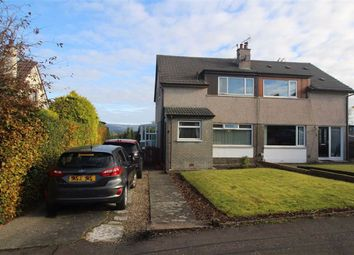 Thumbnail 3 bed semi-detached house for sale in Firth Crescent, Gourock