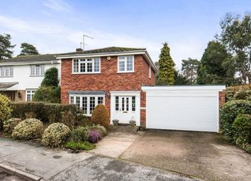 Thumbnail 4 bed detached house for sale in Lightwater, Surrey