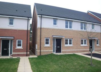 Thumbnail 3 bed terraced house for sale in Strother Way, Cramlington