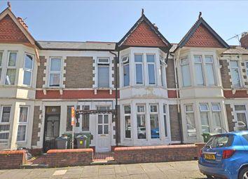 Thumbnail 3 bed terraced house for sale in Newfoundland Road, Heath/Gabalfa, Cardiff