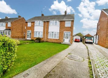 Thumbnail 3 bed semi-detached house for sale in Belvedere Drive, Ganstead Lane, Bilton
