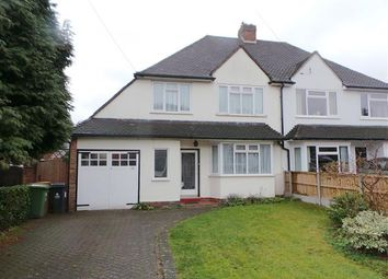 Thumbnail 3 bed semi-detached house for sale in Egerton Road, Streetly, Sutton Coldfield