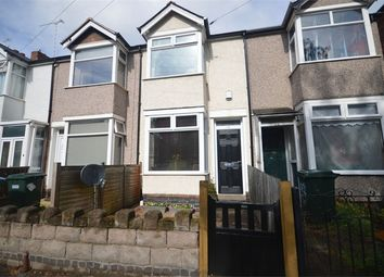 Thumbnail 3 bed terraced house to rent in Moor Street, Earlsdon, Coventry, West Midlands