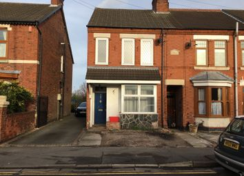 Thumbnail 3 bedroom end terrace house for sale in London Road, Coalville