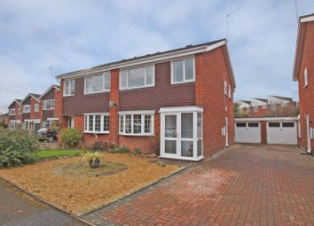Thumbnail 3 bed semi-detached house for sale in Middleton Close, Redditch