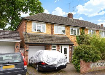 Thumbnail 5 bedroom semi-detached house for sale in Oak Avenue, Owlsmoor, Sandhurst, Berkshire