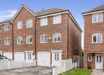 Thumbnail 4 bedroom terraced house for sale in Woodland Drive, New Forest Village, Leeds