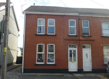 Thumbnail 4 bed semi-detached house for sale in Margaret Street, Ammanford, Carmarthenshire.