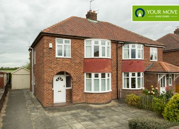 Thumbnail 3 bed semi-detached house for sale in Penyghent Avenue, York