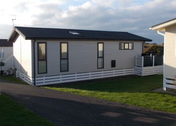 Thumbnail 3 bed mobile/park home for sale in Bodafon Holiday Park, Nefyn