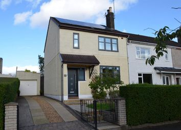 Thumbnail 3 bedroom end terrace house to rent in Beechwood Drive, Glasgow