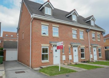 Thumbnail 3 bed town house to rent in Hough Close, Chesterfield