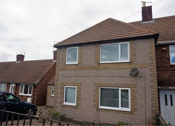 Thumbnail 3 bed semi-detached house for sale in Fenham Road, Morpeth