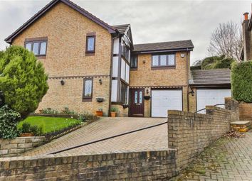 Thumbnail 5 bed detached house for sale in Thanet Lee Close, Cliviger, Lancashire