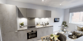 Thumbnail 1 bed flat for sale in Shalesmoor, Sheffield, South Yorkshire
