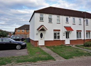 Thumbnail 2 bed end terrace house for sale in Banyard Close, Ipswich