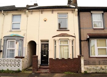 Thumbnail 3 bed terraced house to rent in Queens Road, Gillingham