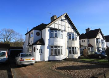 Thumbnail 3 bed semi-detached house to rent in Queensway, West Wickham
