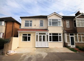 Thumbnail 4 bed semi-detached house to rent in Medora Road, Romford