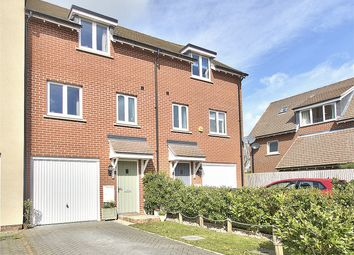Thumbnail 3 bed town house for sale in Garner Drive, St. Ives, Cambridgeshire