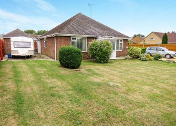 Thumbnail 3 bed detached bungalow for sale in The Fold, Coates, Peterborough