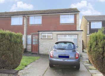 Thumbnail 3 bed property for sale in Leacroft Close, West Drayton