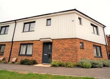 Thumbnail 3 bed semi-detached house for sale in Stigand Lane, Greenhithe, Kent