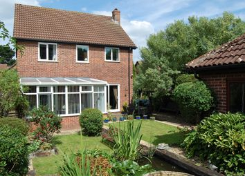 Thumbnail 4 bedroom detached house for sale in Haughgate Close, Woodbridge