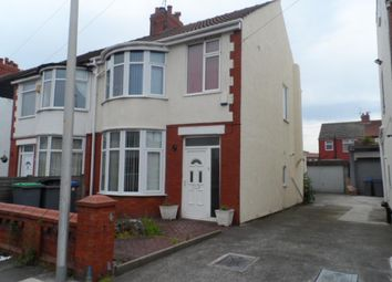 Thumbnail 3 bedroom semi-detached house for sale in Fernhurst Avenue, Blackpool